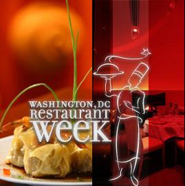 DC's Restaurant Week in August