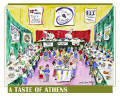 17th annual Taste of Athens