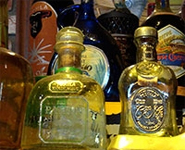 Tequila Bottles as Art