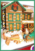Log Cabins of Gingerbread