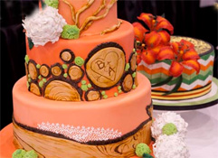 A Foodie Treat at a Flower Show