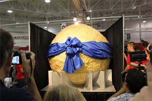 Year of Popcorn Yields World's Largest Popcorn Ball