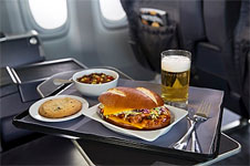 Premium-Cabin Menu on United Express