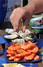 Seafood Festival in Dorset