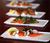Norwegian Salmon Stars on Qatar Airlines