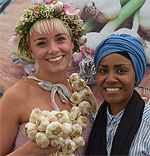 A Garlic Festival on the Isle of Wight