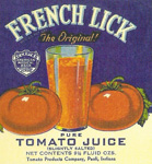 Origin of Tomato Juice?