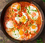 Not Your Bubbie's Shakshuka
