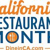 California Restaurant Month