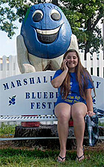 Marshall County Blueberry Festival, Plymouth, Indiana