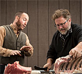 Harvest Butchery Classes in an Oregon Vineyard