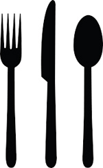 fork knife spoon