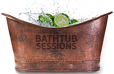 "Britain's ""Bathtub Sessions"" Gin Festival"