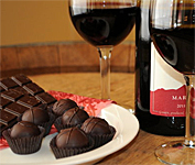 A Wine and Chocolate Weekend in Vermont