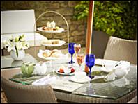 Afternoon Tea, Royal Crescent Hotel, Bath, England
