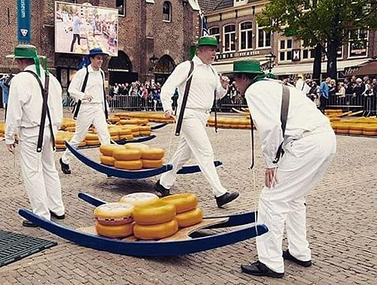 Alkmaar Cheese Market, Netherlands