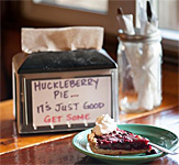 Montana's Huckleberry Pie