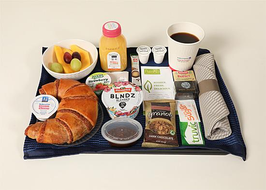 United Airlines - Kosher Breakfast