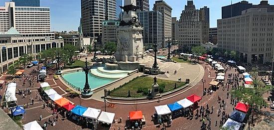 Monumental Marketplace, Indianapolis, Indiana