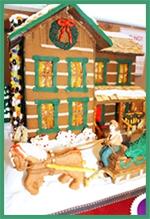 Log Cabins of Gingerbread