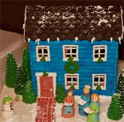 A Gingerbread Village