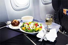 Dining Aloft with United