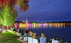 Maschsee Lake Festival in Hannover, Germany