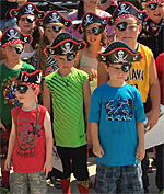 Pirates and Popcorn in Southern Indiana