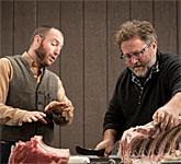 Harvest Butchery Classes in an Oregon Vineyard