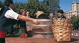 Spain's Rioja Wine Harvest Festival