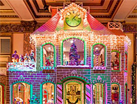 A Gingerbread House . . . as Big as a Real House