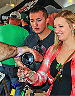 Beer Fest at Watkins Glen, New York
