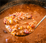 Chili Cook Off at Winterfest in Beulah, Michigan