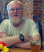 James McCoy, brewmaster, St. iNicholas Brewery, Du Qoin, Illinois
