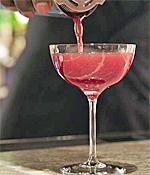 Fashionable Cocktails in Manhattan