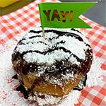 Indiana State Fair, DEEP FRIED CHOCOLATE COOKIE ICE CREAM SANDWICH