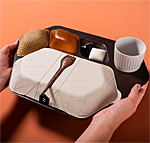 Partially-Edible Flight Meal Trays