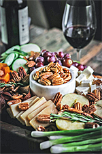 October Celebrates Texas Pecans and Texas Wines